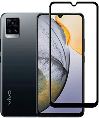 Colorcase Tempered Glass Guard for Vivo V20(Pack of 1)