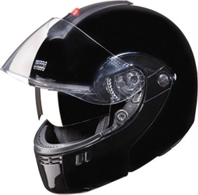 STUDDS NINJA 3G DOUBLE VISOR FULL FACE -XL Motorsports Helmet(Black)