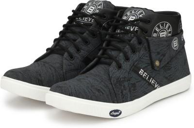 believe Sneakers for men(black_7) Sneakers For Men(Black)