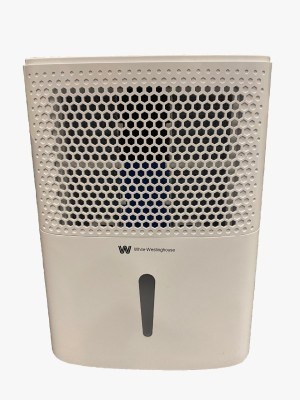 White Westing House 3 in 1 Dehumidifier, Air Purifier, Clothes Dryers WDE122 Portable Room Air Purifier(White)