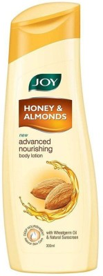 Joy Honey & Almonds Advanced Nourishing Body Lotion, For Normal to Dry skin(300 ml)