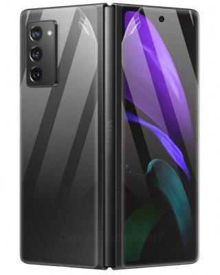 Case Creation Front and Back Screen Guard for Samsung Galaxy Z Fold 2(Pack of 2)