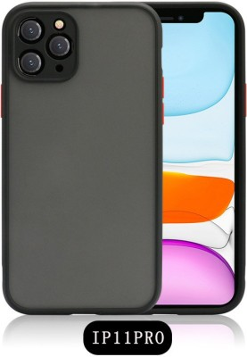 PROZZILE Back Cover for Apple Iphone 11 Pro(Black, Camera Bump Protector)