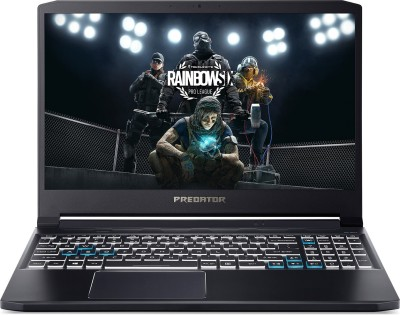 Acer Predator Triton 300 Core i5 10th Gen - (8 GB/512 GB SSD/Windows 10 Home/4 GB Graphics/NVIDIA GeForce GTX 1650 Ti/144 Hz) PT315-52 Gaming Laptop(15.6 inch, Abyssal Black, 1.7 kg)