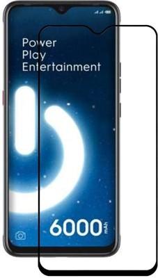 Ravbelli Edge To Edge Tempered Glass for Tecno Spark Power 2(Pack of 1)