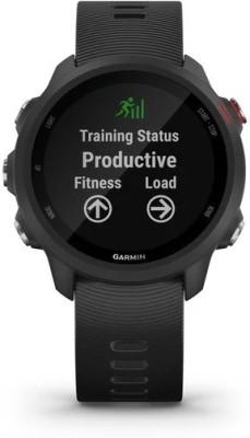 GARMIN Forerunner 245 Music Smartwatch(Black Strap, Regular)
