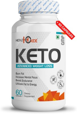 HEALTHOXIDE Fat Burner Weight loss supplements with all natural ingredients(60...