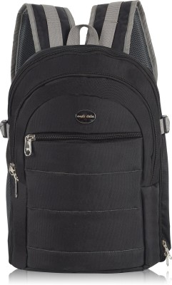 AMPLE ITALIA Shoulder Backpack to Carry DSLR SLR Lens Camera Bag (Black)  Camera Bag(Black)