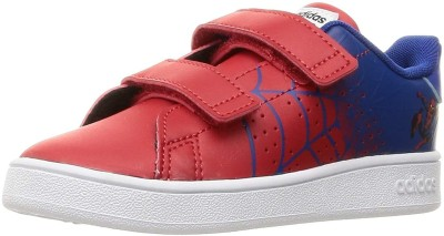 Adidas Boys Velcro Sneakers Red