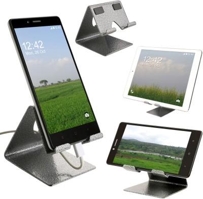 YT Antique Silver Metal Tablet Stand/ Mobile Holder