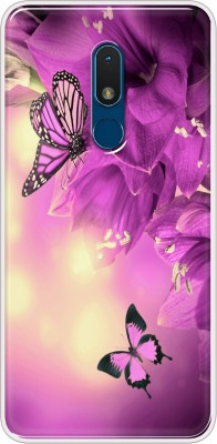 Hansviprint Back Cover for Nokia C3(Multicolor, Grip Case, Silicon)