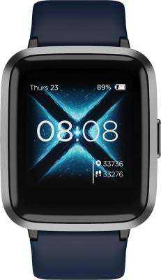 boAt Storm Smartwatch  (Blue Strap, Regular)