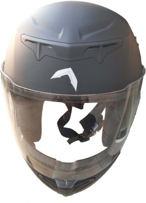 TSENTERPRISES TS-HONCHOPRO-BLUETOOTH-ENABLED-HELMET Motorsports Helmet(MATT BLACK, SNIPPER GREEEN, SAHARA BEIGE, Bullet Grey)