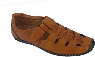 ERO BOS Men Tan Sandals