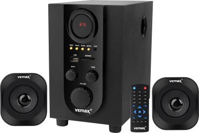 Vemax Vista 2.1 Bluetooth Home Theater System 18 W Bluetooth Home Theatre(Black, 2.1 Channel)