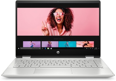 HP Pavilion x360 Core i3 10th Gen - (8 GB/256 GB SSD/Windows 10 Home) 14-dh1181TU 2 in 1 Laptop(14 inch, Mineral Silver, 1.58 kg, With MS Office)