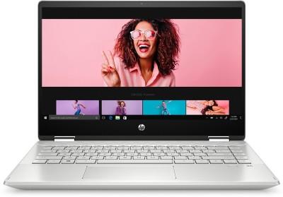 HP Pavilion x360 Core i3 10th Gen - (8 GB/256 GB SSD/Windows 10 Home) 14-dh1181TU 2 in 1 Laptop(14 inch,...
