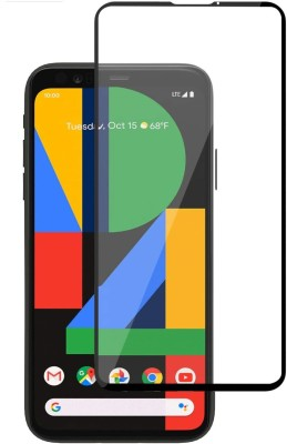 Cover Alive Edge To Edge Tempered Glass for Google Pixel 4a(Pack of 1)