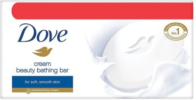 DOVE Cream Beauty Bathing Bars(4 x 100 g)