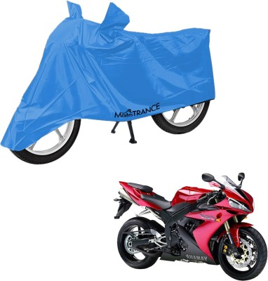 Mototrance Two Wheeler Cover for Yamaha YZF R1, Blue
