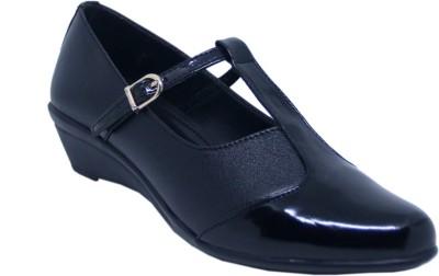 banuchifashions Wedges Heel Casual Office use Bellies footwear Bellies For Women(Black)