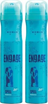ENgAgE Spell Deodorant Spray - For Women (150 ml) Deodorant Spray  -  For Women (150 ml, Pack of 2)