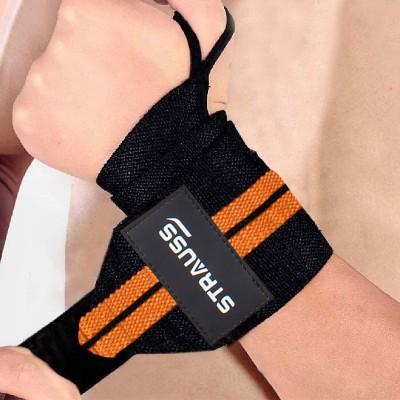 Strauss WL Cotton Wrist Support(Orange)