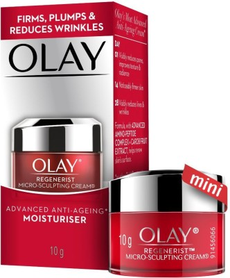 Olay Day Cream: Regenerist Microsculpting Mini Moisturiser (non SPF)(10 g)