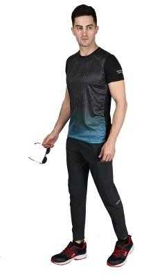 D-passion Self Design Men Track Suit