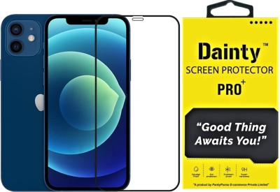 Dainty Edge To Edge Tempered Glass for Apple iphone 12 Mini(Pack of 1)