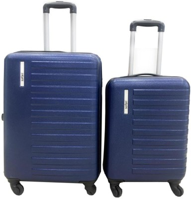 SAFARI GROOVE SP BLUE Cabin   Check in Luggage   24 inch SAFARI Suitcases