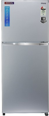 MarQ by Flipkart 271 L Frost Free Double Door 2 Star (2020) Engineered with Panasonic Technology Refrigerator(Dark Steel, 272JF2MQDS)