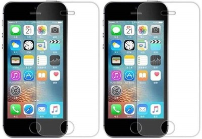 MOBILIVE Tempered Glass Guard for Apple iPhone 5, iPhone 5S, iPhone 5C(Pack of 2)