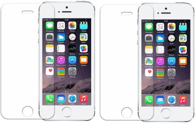 MOBILIVE Tempered Glass Guard for Apple iPhone 5S, iPhone 5s, iPhone 5C(Pack of 2)