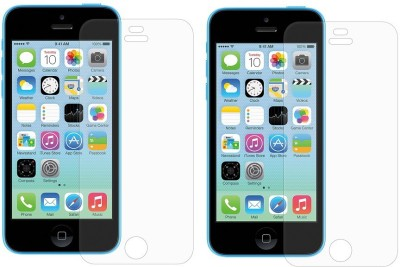 MOBILIVE Tempered Glass Guard for Apple iPhone 5C, iPhone 5s, iPhone 5(Pack of 2)
