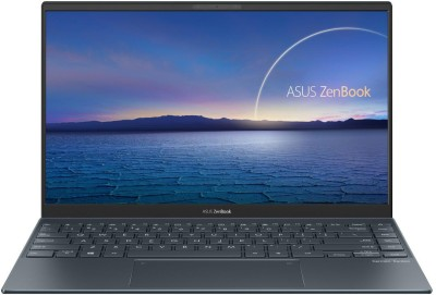 ASUS ZenBook 14 Core i7 11th Gen - (16 GB/512 GB SSD/Windows 10 Home) UX425EA-BM701TS Thin and Light Laptop(14 inch, Pine Grey, 1.17 kg, With MS Office)