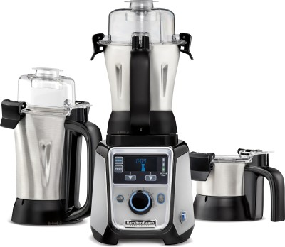 Hamilton Beach Professional 58770-IN 1400 W Mixer Grinder(Silver, Black, 3 Jars)