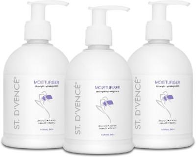 ST. D'VENCÉ Original Moisturiser- All Skin Types enriched with Aloe Vera & Vitamin E | No Parabens | No Sulphates...