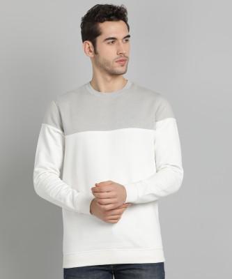 VAN HEUSEN SPORT Full Sleeve Color Block Men Sweatshirt