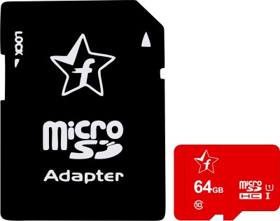 Flipkart SmartBuy Memory card 64 GB MicroSD Card Class 10 95 MB/s Memory Card(With Adapter)