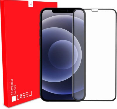 Case U Edge To Edge Tempered Glass for Apple iPhone 12, Apple iPhone 12 Pro(Pack of 1)