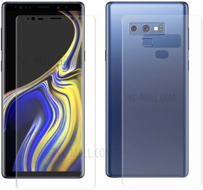 Tuta Tempered Front and Back Tempered Glass for Samsung Galaxy Note 9(Pack of 2)