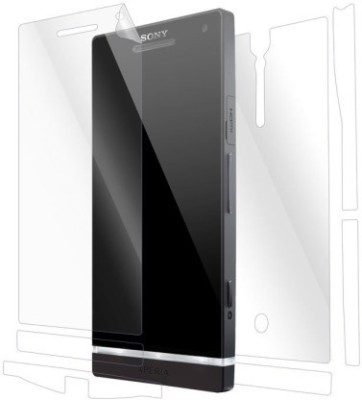 STUFF Guards Front and Back Screen Guard for Sony Xperia S(Pack of 2)