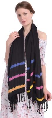 Palatt Striped, Printed Viscose Women Scarf, Stole, Fancy Scarf