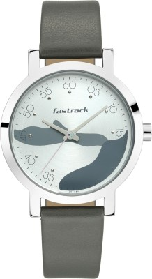 Fastrack 6222SL02 Bare Basics Analog Watch   For Women Fastrack Wrist Watches