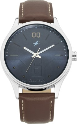 Fastrack 3247SL01 Bare Basics Analog Watch   For Men Fastrack Wrist Watches