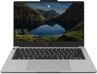 Avita Liber V14 Ryzen 5 Quad Core 3500U - (8 GB/512 GB SSD/Windows 10 Home) NS14A8INV562-SSA Thin and Light Laptop(14 inch, Star Silver, 1.25 kg, With MS Office)