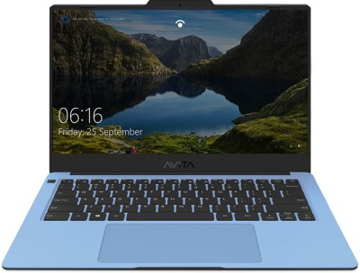 Avita Liber V14 Ryzen 5 Quad Core 3500U - (8 GB/512 GB SSD/Windows 10 Home) NS14A8INV562-ABB Thin and Light Laptop(14 inch, Airy Blue, 1.25 kg, With MS Office)