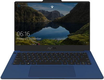 Avita Liber V14 Ryzen 5 Quad Core 3500U - (8 GB/512 GB SSD/Windows 10 Home) NS14A8INV562-SNA Thin and Light Laptop(14 inch, Starry Night Blue, 1.25 kg, With MS Office)