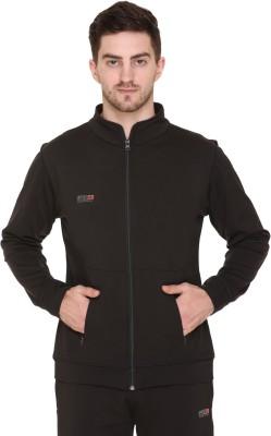 GYMZO Full Sleeve Solid Men Jacket
